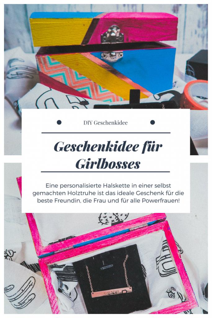 Geschenkidee DIY Girlboss
